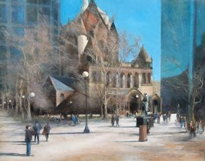 Winter's End Copley Square