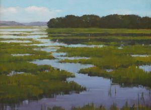 Moon Tide Marsh
