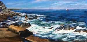 Watching the Waves, Halibut Point